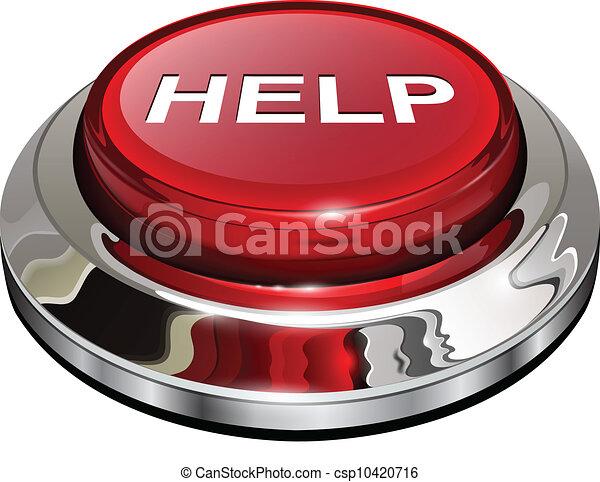botão, ajuda - csp10420716