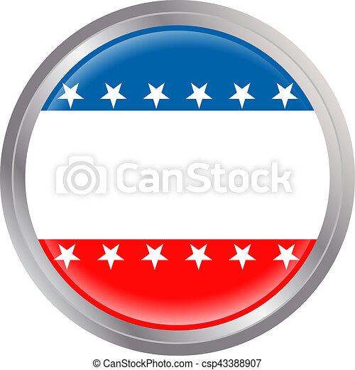 botão, eua - csp43388907