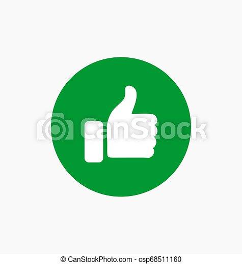 Como el icono de botón - csp68511160