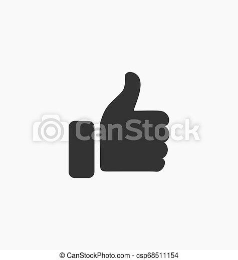 Como el icono de botón - csp68511154