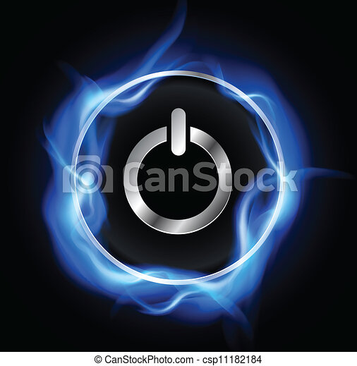 Botón de energía - csp11182184