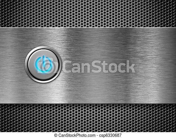 botón, potencia - csp6330687