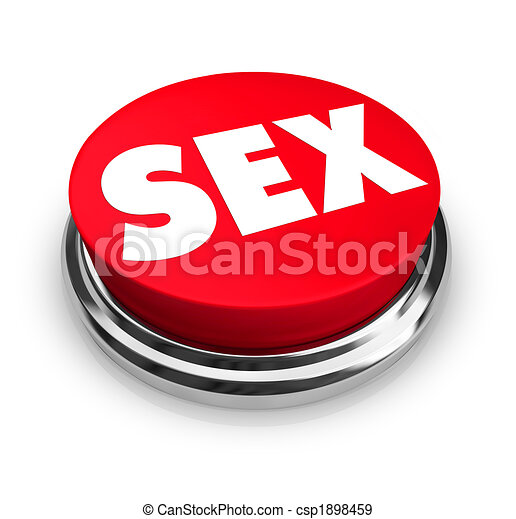 Sexo, botón rojo - csp1898459