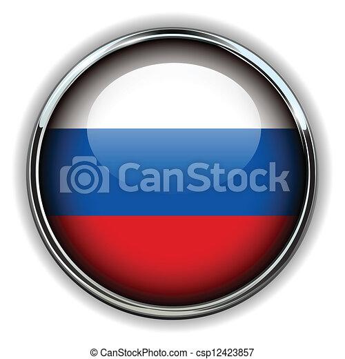 Botón de Rusia - csp12423857