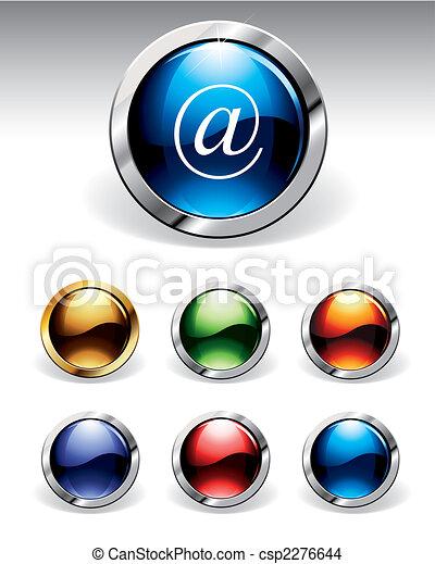 botões, brilhante - csp2276644