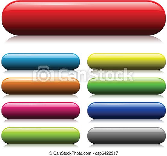 botões, teia - csp6422317