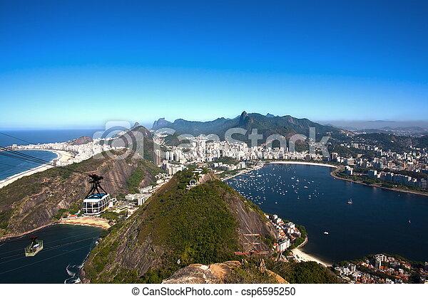 botafogo and copacabana - csp6595250