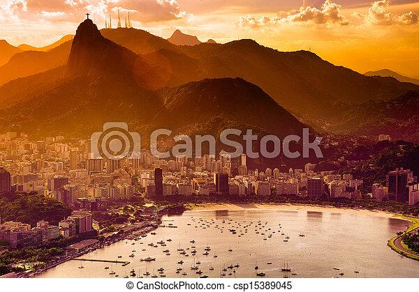 Botafogo neighborhood - csp15389045
