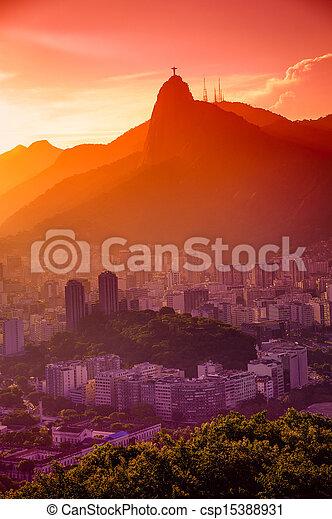 Botafogo neighborhood - csp15388931