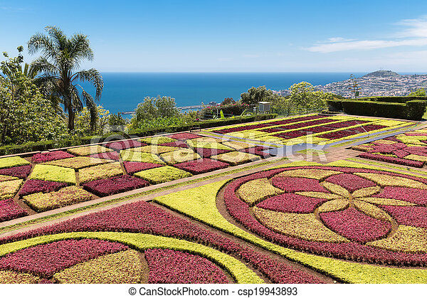Botanical garden of Funchal at Madeira Island, Portugal - csp19943893