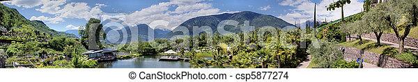 Botanical garden of Merano - csp5877274
