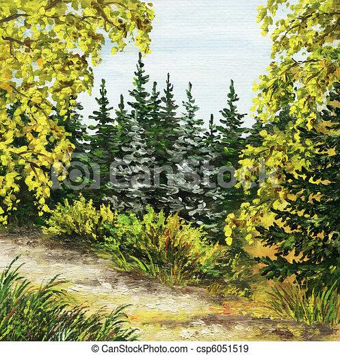 Botanical Garden, Russia - csp6051519