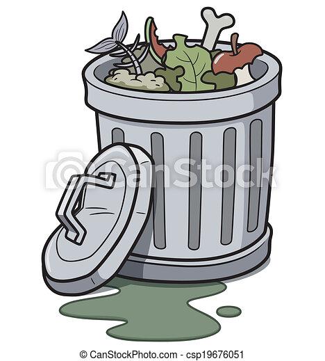 Latas de basura - csp19676051