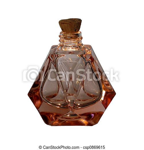 botella antigua, perfume - csp0869615