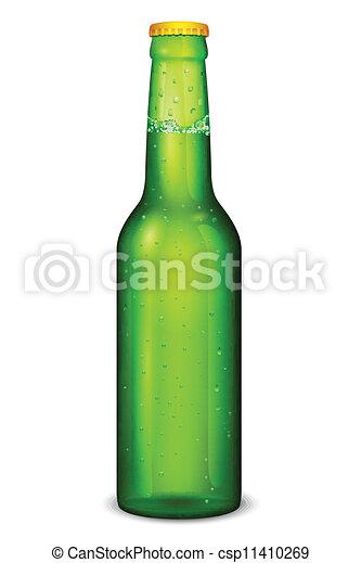 botella de cerveza - csp11410269
