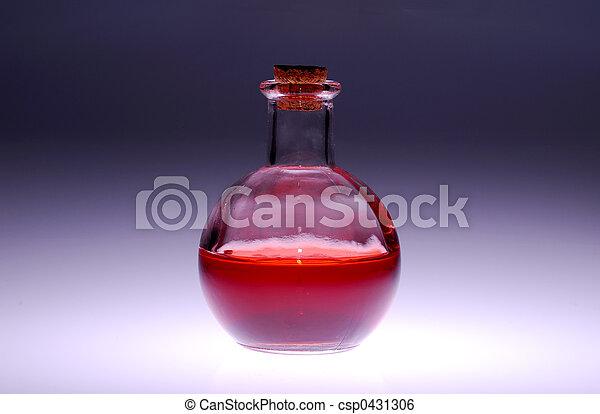botella de vidrio - csp0431306