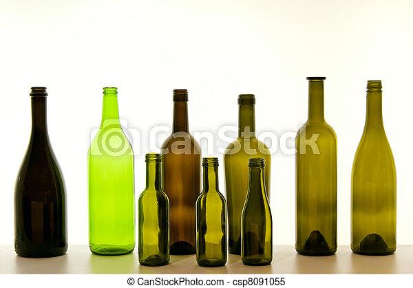 Botellas - csp8091055
