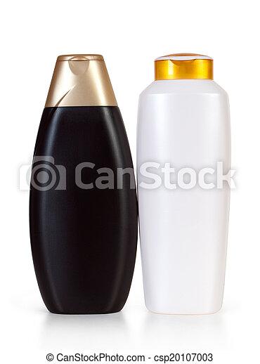 botellas, champú - csp20107003