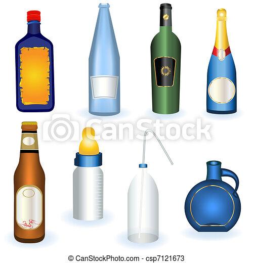 Coleccion de botellas - csp7121673