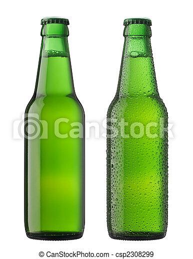 botellas de cerveza, dos - csp2308299