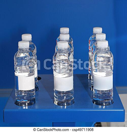 botellas del agua - csp49711908