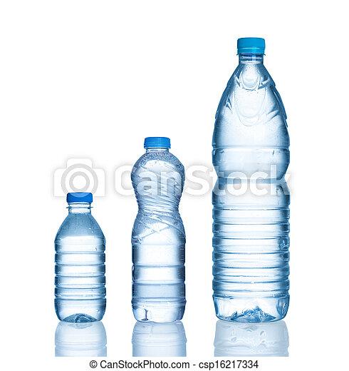 Botellas de agua - csp16217334
