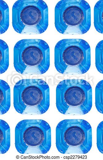 botellas del agua - csp2279423