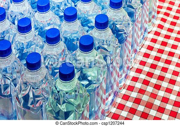 Botellas de agua - csp1207244