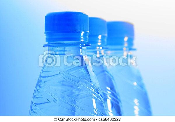Botellas de agua - csp6402327