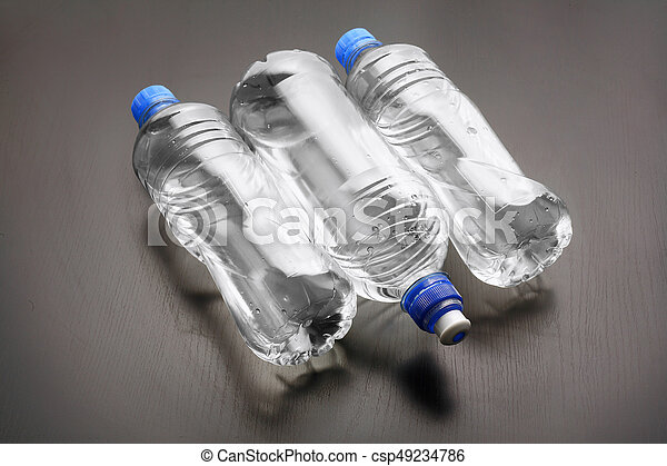Botellas de agua - csp49234786