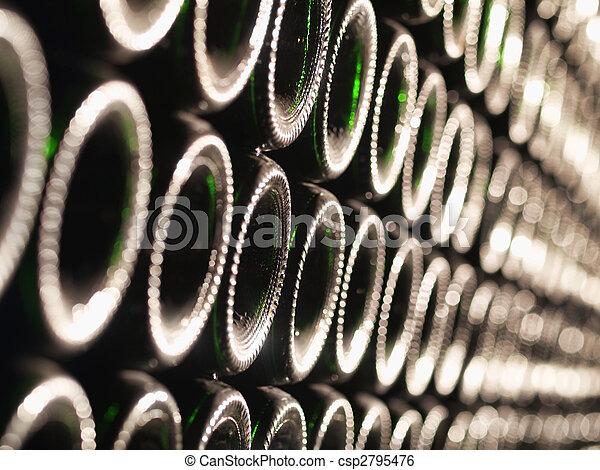Botellas de vino - csp2795476