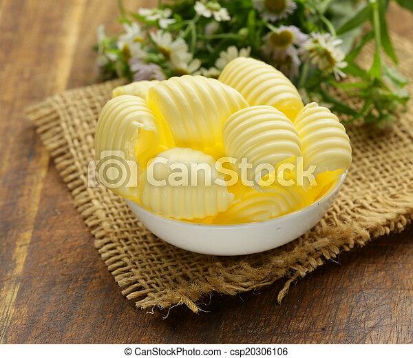 boter, fris, melkinrichting, gele - csp20306106