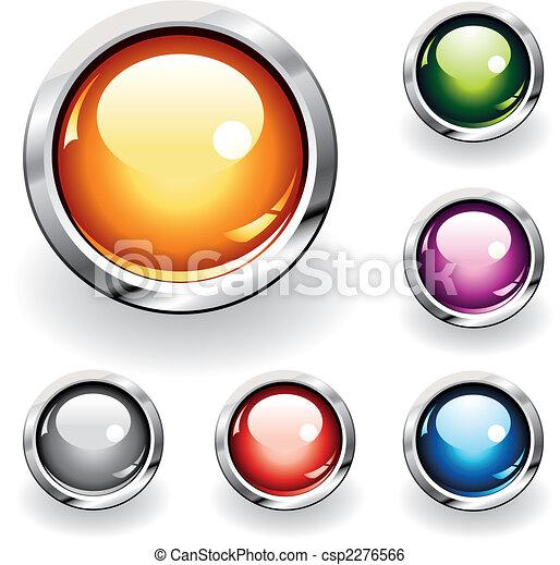 Botones brillantes - csp2276566