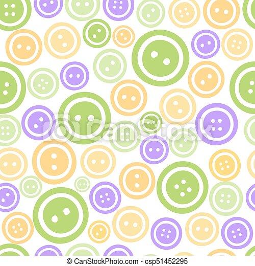Botones de colores sin forma de fondo - csp51452295