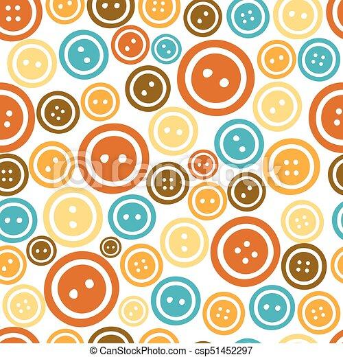 Botones de colores sin forma de fondo - csp51452297