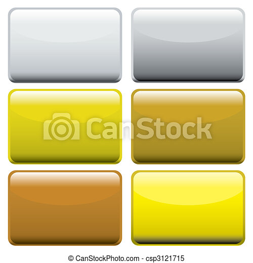 Botones de telaraña metapálica - csp3121715