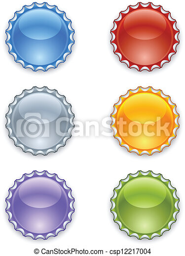 Bottle caps - csp12217004