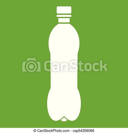 Bottle icon green - csp54356066
