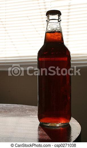 Bottle of Amber - csp0271038