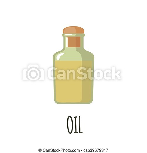 Bottle of oil icon. - csp39679317