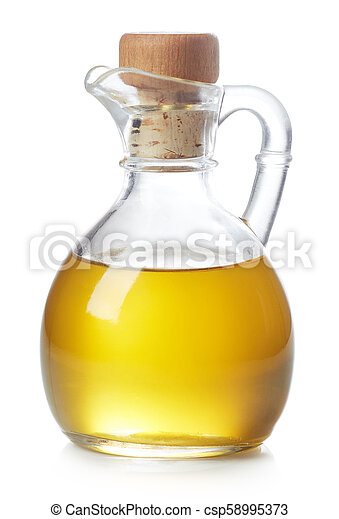 Bottle of olive oil - csp58995373