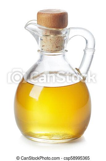 Bottle of olive oil - csp58995365