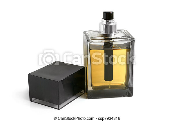 Bottle of perfume - csp7934316