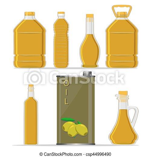 bottle Olive Oil - csp44996490