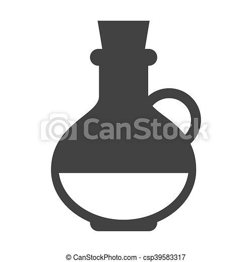 bottle olive oil - csp39583317