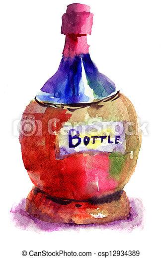 Bottle - csp12934389