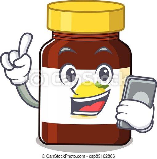 Bottle Vitamin C 18 - csp83162866