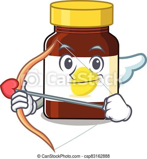 Bottle Vitamin C 25 - csp83162888