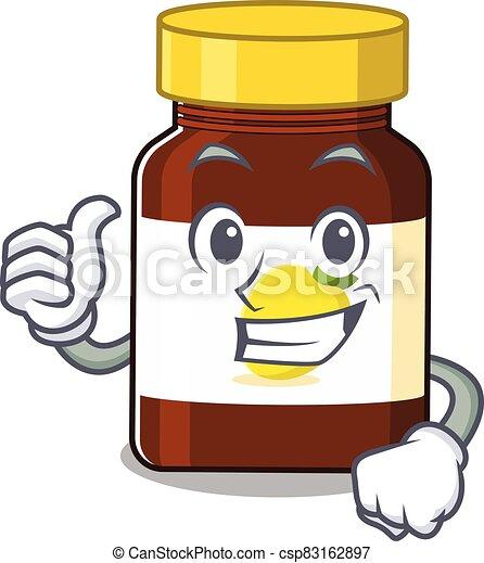 Bottle Vitamin C 29 - csp83162897