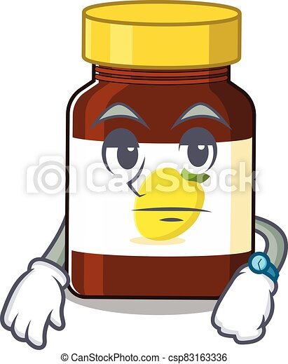 Bottle Vitamin C 77 - csp83163336
